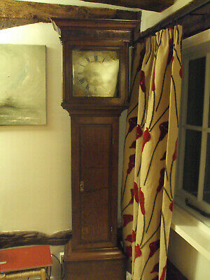 Henry Deykin longcase clock number 1197 worcestershire Grandfather clock