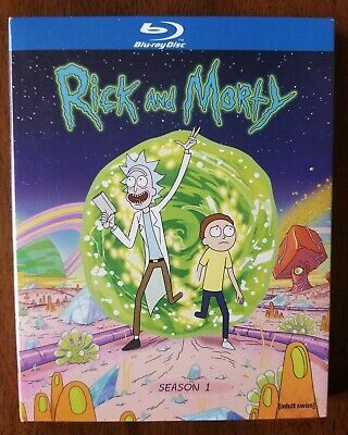 Rick and Morty: The Complete First Season (Blu-ray Disc, 2014)