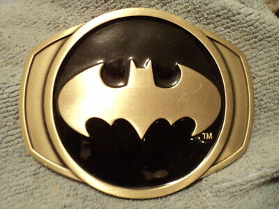 Batman Belt Buckle Comics Usa American Superhero Logo Icon Western Tribal Gothic