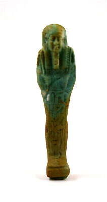Egypt Late period faience shabti for the priest Hor-Khonsu