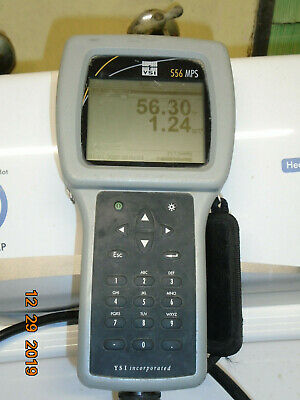 YSI 556 MPS Handheld DO pH ORP Multiparameter Water Quality Meter W/O Sensor