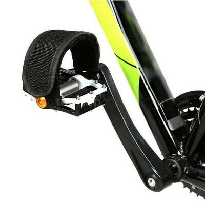 Black 1689 Retrospec Bicycles Unbreakable Strapless Bicycle Toe Clip//Cage