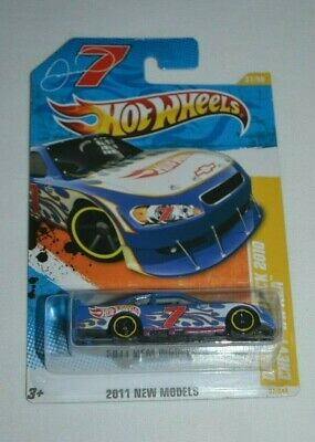 Hot Wheels 2011 New Models 37/50 - Danica Patrick 2010 Chevy Impala Blue