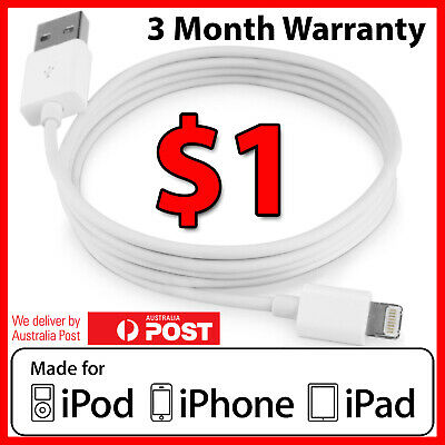 USB Lightning Charger Cable Data Sync for Apple Charger iPhone 6 S Plus 7 8 X 5