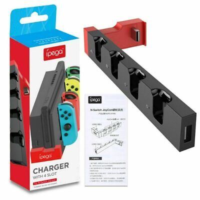 Camepad Game Controller Charger Stand Desktop Charging Dock for Switch Joy-Con