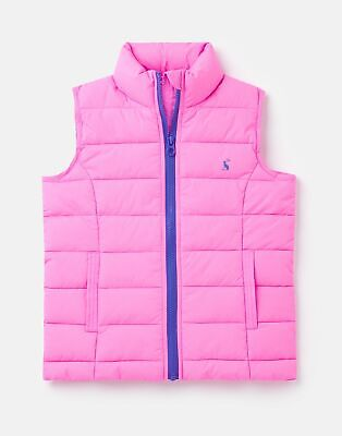 Joules 210367 Quilted Gilet in LIGHT PINK