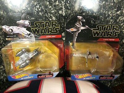 Star Wars HOT WHEELS STAR SHIP Die Cast RAZOR CREST MANDALORIAN SHIP