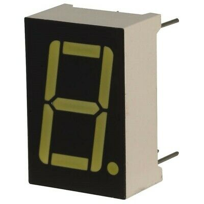 5x TruOpto OSL10561-LW 14.2mm White Seven Segment Display Cathode 65mcd