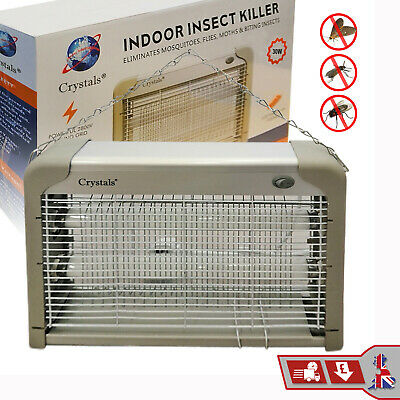 30W Insect Killer Indoor Industrial Electric Fly Mosquito Bug Zapper UV Light