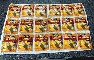 HotHands Toe Warmers Lot of 18 Pairs EXP 09/22 BRAND NEW