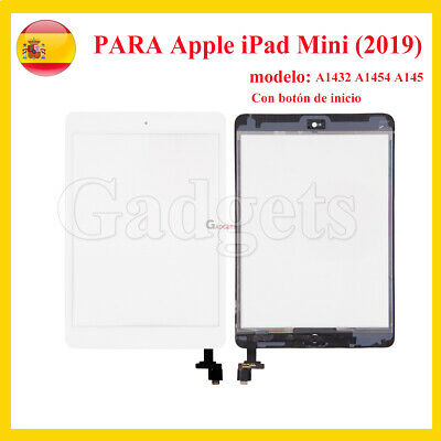 Pantalla Tactil Digitalizador Para iPad Mini A1432 A1454 A145 Blanco ADHESIVO