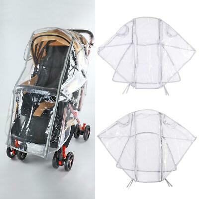 Universal Baby Cart Rain Cover Dust Shield for Stroller Pushchair Accessories