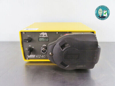 Watson Marlow 624U Peristaltic Pump with Warranty SEE VIDEO