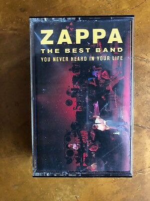 FRANK ZAPPA The Best Band You Never Hear in Your Life CASSETTE USED