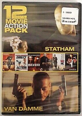 12 Movie Action Pack (DVD 2-Disc Set) Brand New & Factory Sealed