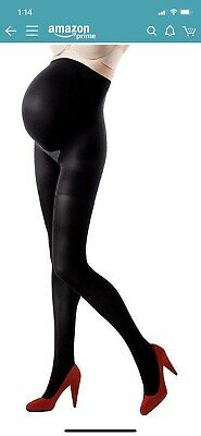 """Spanx Assets Maternity Tights Black Size 2 (5'1""""-5'9"""", 125-155lbs)"""
