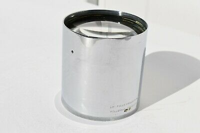 """Vintage 18"""" Focus Projection Lens Wollensak Rochesters, Usa As Found"""