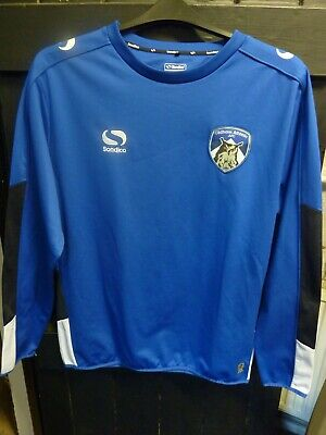 Oldham Athletic Afc Blue Official Training Top Made By Sondico Size Large New