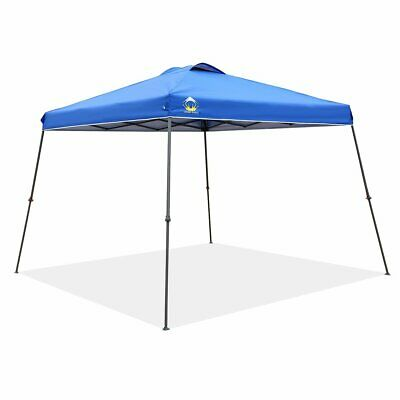 Crown Shades 11 x 11 ft. Outdoor Instant Folding Canopy Wheeled Bag, Blue (Used)
