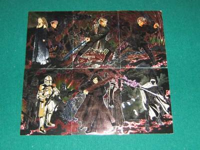 Star Wars Evolution Update Etched Foil Puzzle Chase Card #3