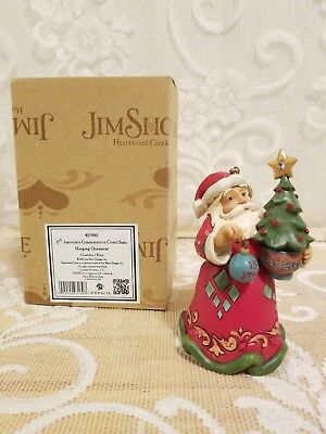 Jim Shore 15th Anniversary Santa Tree Ornament 4059001