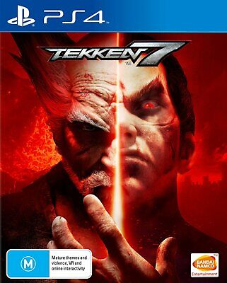 Tekken 7 PlayStation 4 PS4 Games Seamless Story  Over the top cinematic story