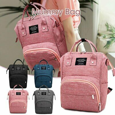 Large Multifunctional Baby Diaper Nappy Backpack Mummy Changing Travel Shop Bag
