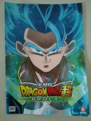 SDCC Comic Con 2018 EXCLUSIVE DRAGONBALL Z Super Broly movie poster