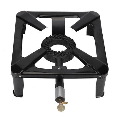 Cast Iron Large Gas LPG Burner Cooker Gas Boiling Ring Restaurant Catering QU
