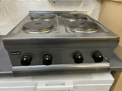 Lincat HT6 4 Ring Electric Boiling Hob Cooker Electric Single Phase