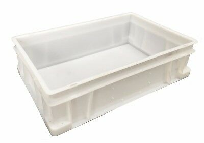 Plastic Stacking Food Grade Deep Food Catering Euro Box Tray Commercial Quality!