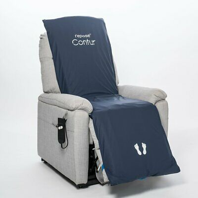 Repose Pressure Relieving Contur Acute Riser Recliner Chair Overlay and Pump