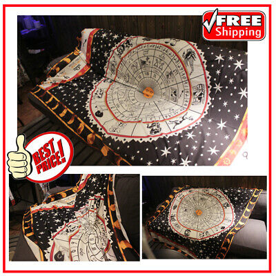 Tarot Altar Tablecloth Sofa Cover Astrology Oracle Carpet Divine Tapestry Art