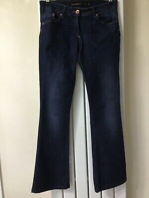 Next Ladies Boot Cut Lift & Shape Blue Jeans Size 12 Regular
