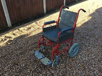 Small Wheelchair With Footrest