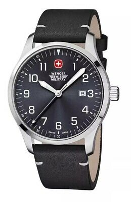 Wenger Terragraph Stainless Steel Men's Swiss Military Watch Brand NEW in box