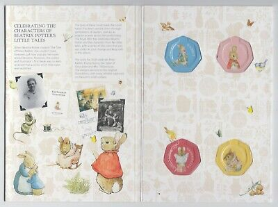 2018 Royal Mint Beatrix Potter 50p Coin Collector Album Folder. New