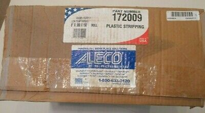 "ALECO 172009 Strip Curtain Roll 150' (8"" x .080) Ribbed - Bulk Roll Stripping -"