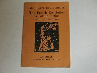 reading with a purpose the french revolution as told in fiction June 1927