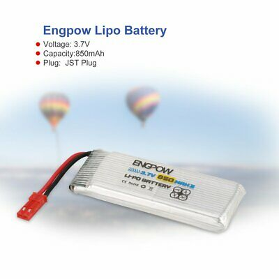 3.7V//1S 500mAh Rechargeable LiPo Battery JST Plug for UDI WLtoys RC Drone #GD