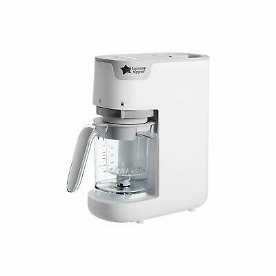 TOMMEE TIPPEE Quick Cook Baby Food Maker, White,