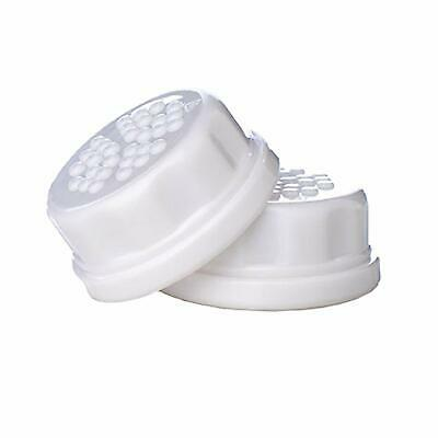 Thermos Lifefactory Sippy Flat Caps, 2 Piece, White