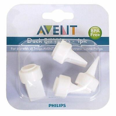 Philips AVENT Duck Bill Valves 4 pack BPA Free Includes soft sleeves