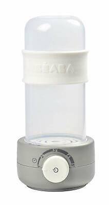 BEABA Baby Milk Second Bottle Warmer Grey Patented Air Tight Lid