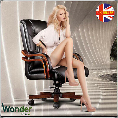 Office VIP Meting Chair Hight Back Swivel Tilt Computer PC Desk Seat PU Leather