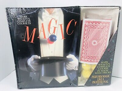 🔥 Magic Kit Mark Wilson's Complete Course in Magic •472 Page Book • New Sealed