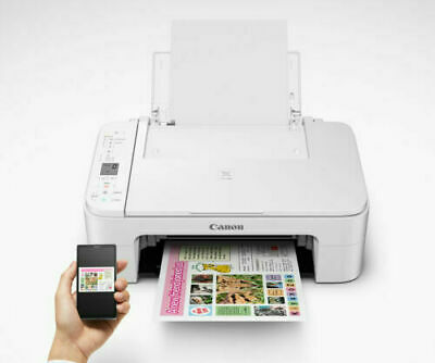 Canon PIXMA TS3122 Wireless Home Office All-in-One Multifunction Inkjet Printer