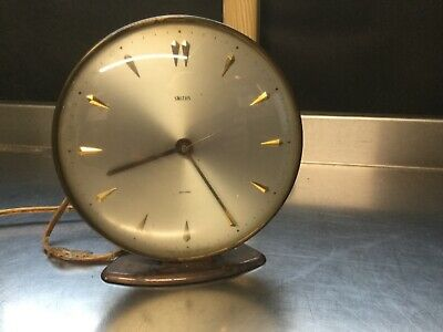 Vintage retro mid century Smiths electric clock - spares and repairs
