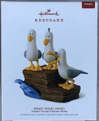 2018 Hallmark Keepsake Disney Pixar Finding Nemo MINE MINE MINE Ornament - New