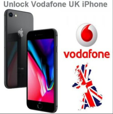 Vodafone Super Fast Express Unlock Code service iPhone6 5S 5C 5 4S 4✅24-48 Hours